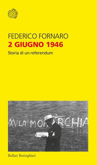 """Federico Fornaro presenta """"2 giugno 1946"""" ad Alessandria"""