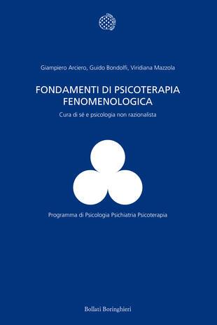 copertina Fondamenti di psicoterapia fenomenologica