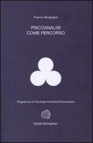 copertina Psicoanalisi come percorso