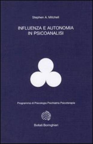 copertina Influenza e autonomia in psicanalisi