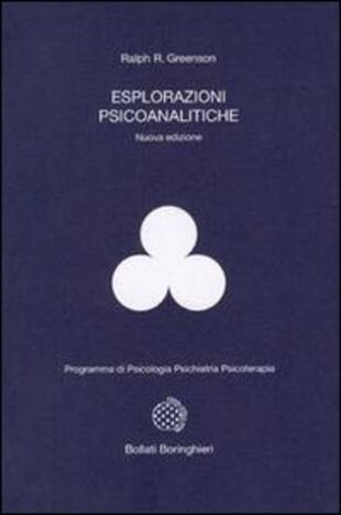 copertina Esplorazioni psicoanalitiche