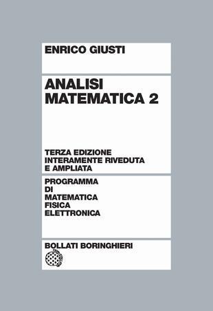 copertina Analisi matematica vol.2