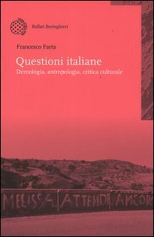 copertina Questioni italiane