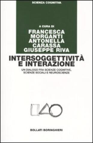 copertina Intersoggettività e interazione