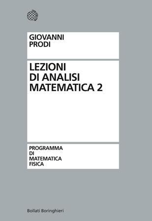 copertina Lezioni di analisi matemtica: vol. 2