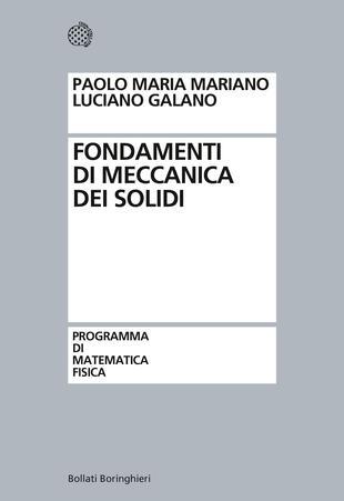 copertina Fondamenti di meccanica dei solidi