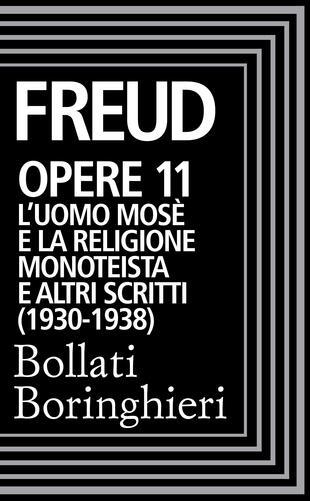 copertina Opere Vol. 11: L'Uomo Mosè (1930-1938).