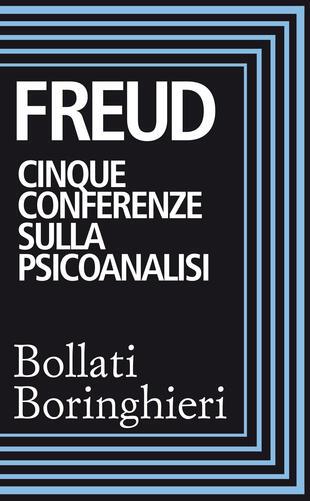 copertina Cinque conferenze sulla psicoanalisi