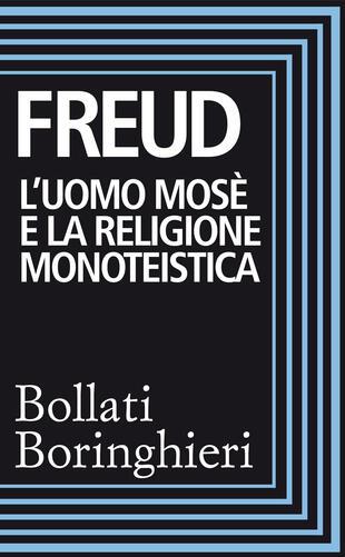 copertina L'uomo Mosè e la religione monoteistica