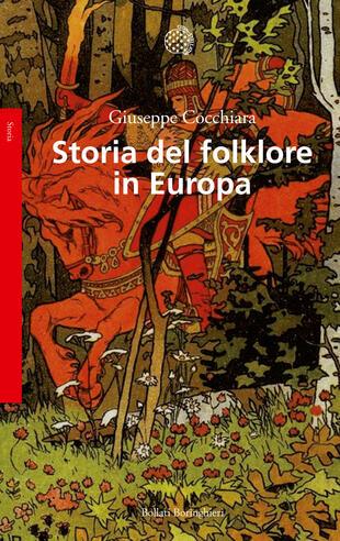 copertina Storia del folklore in Europa