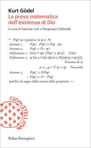 copertina La prova matematica dell'esistenza di Dio