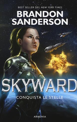 copertina Conquista le stelle. Skyward