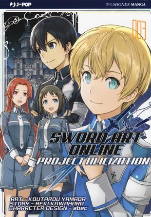 copertina Project Alicization. Sword art online. Vol. 3