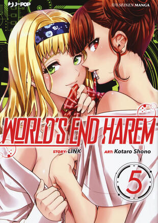 copertina World's end harem. Vol. 5