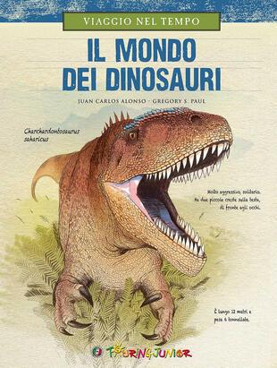 copertina Viaggio nel tempo. Il mondo dei dinosauri