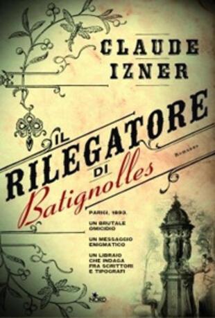 copertina Il rilegatore di Batignolles