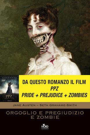 copertina Orgoglio e pregiudizio e zombie