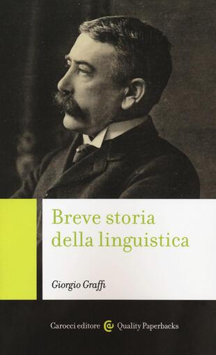 copertina Breve storia della linguistica