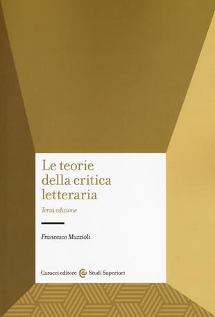 copertina Le teorie della critica letteraria
