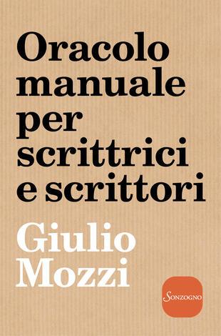 copertina Oracolo manuale per scrittrici e scrittori