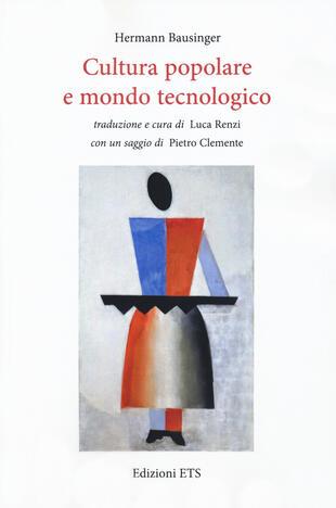 copertina Cultura popolare e mondo tecnologico