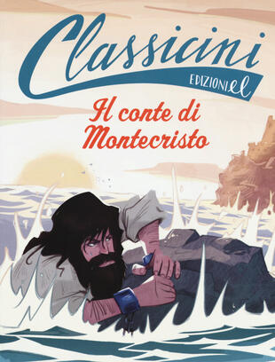 copertina Il conte di Montecristo da Alexandre Dumas. Ediz. a colori