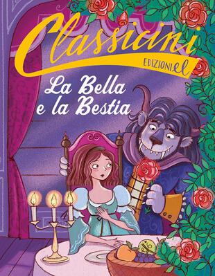 copertina La Bella e la Bestia da Jeanne-Marie Leprince de Beaumont