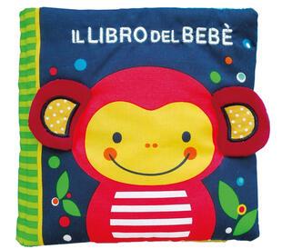 copertina Il libro del bebè. Scimmia. Ediz. a colori