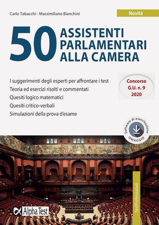 copertina 50 assistenti parlamentari alla Camera. Con software di simulazione