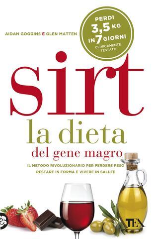 copertina Sirt la dieta del gene magro