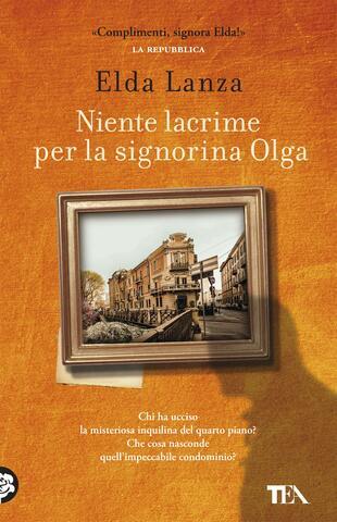 copertina Niente lacrime per la signorina Olga