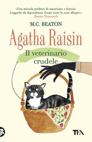 copertina Agatha Raisin. Il veterinario crudele