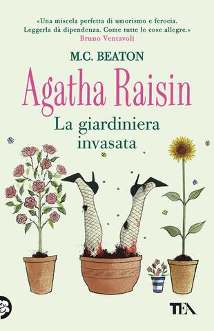 copertina Agatha Raisin. La giardiniera invasata