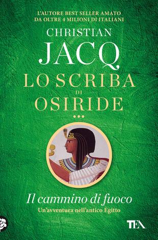 copertina Lo scriba di Osiride. Il cammino di fuoco