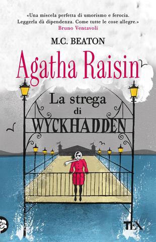 copertina Agatha Raisin. La strega di Wyckhadden