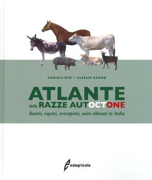 copertina Atlante delle razze autoctone. Bovini, equini, ovicaprini, suini allevati in Italia