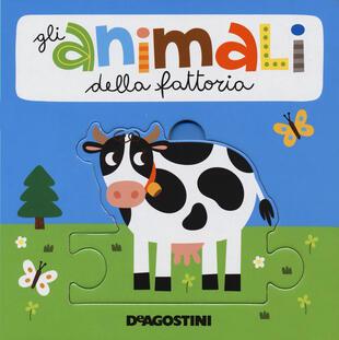 copertina Animali. Libro puzzle. Ediz. a colori