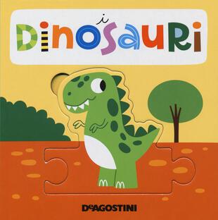 copertina I dinosauri. Libro puzzle. Ediz. a colori