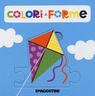 copertina Forme e colori. Libro puzzle. Ediz. a colori