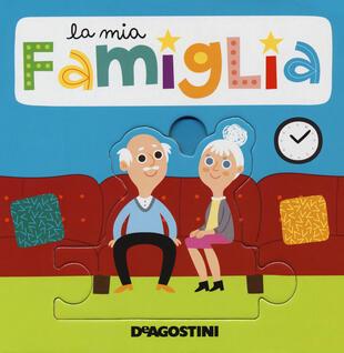 copertina La mia famiglia. Libro puzzle. Ediz. a colori