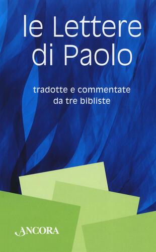 copertina Le lettere di Paolo