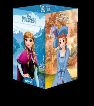 copertina Principesse Frozen. Cubotti. Ediz. a colori