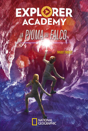 copertina La piuma del falco. Explorer Academy