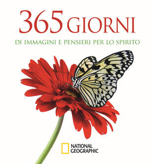 copertina 365 giorni di immagini e pensieri per lo spirito. Ediz. illustrata