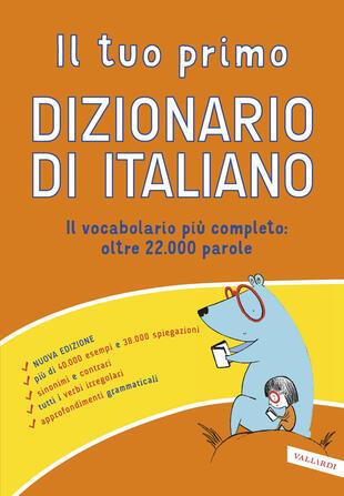 copertina Il tuo primo dizionario di italiano