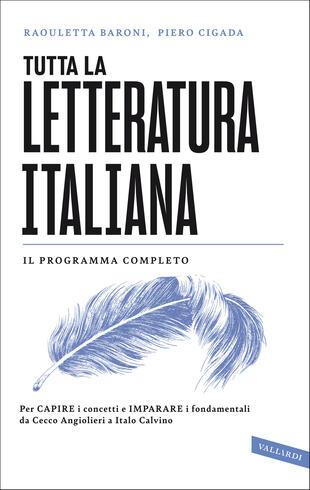 copertina Tutta la letteratura italiana