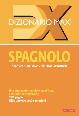 copertina Dizionario spagnolo maxi