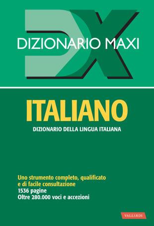 copertina Dizionario italiano maxi