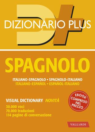 copertina Dizionario spagnolo plus