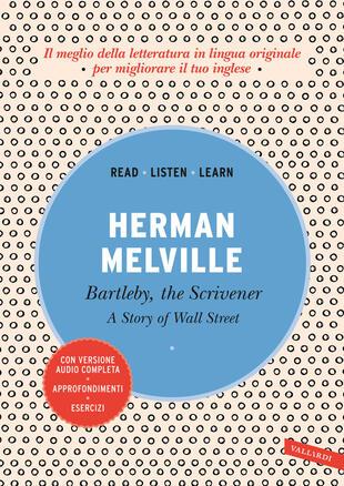 copertina Bartleby, the Scrivener: A Story of Wall Street